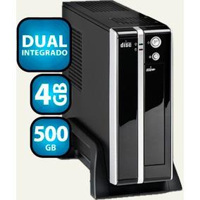 Mini Pc Desktop Atrio Dual 4gb Ddr3 Hd 500gb