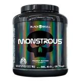 Suplemento Monstrous 6lbs Morango - Black Skull