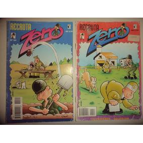 Recruta Zero 22 E 24 Editora Saber 1997 Formato Americano