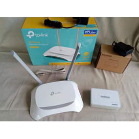 Kit Fibra Óptica Onu Phyhome E/gpon + Router Tp-link 300mbps