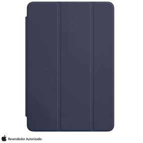 Capa Cover Ipad Mini 4 Poliuretano Azul Meia Apple Mklx2bz/a