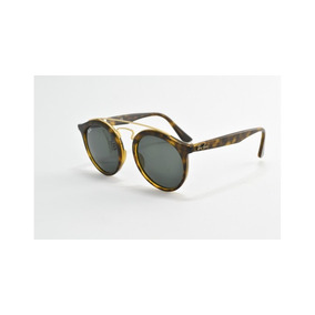 Óculos De Sol Ray Ban Rb4256 6092 6g 49 Gatsby Round Large - Óculos ... d04c473280