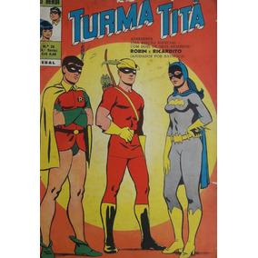 Turma Titã #29 Ebal 1971 O Herói 4a Série Loja De Coleções