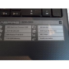 Notebook Acer Aspire 5250-0866 - Peças