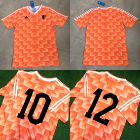 Camiseta Holanda Euro 88 Gullit Van Basten.   2.500. Envío gratis 0fd289a32a172