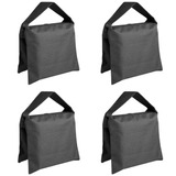 Saco De Arena Neewer Kit De 4 Piezas Para Base Stands -negro