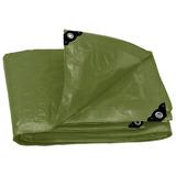 Lona Uso Rudo Verde Olivo 2 X 3 Metros Truper Expert 16373
