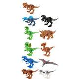 Set De 12 Dinosaurios Jurassic World,compatible Lego.