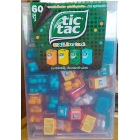 Caja Gigante Tic Tac Con 60 Minicajitas Importada