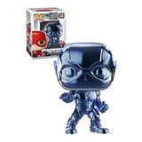 Funko Pop : Justice League - Flash #208 Chrome Blue