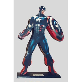 Bonecos Marvel - Homem De Ferro, Hulk, Capítão América, Thor
