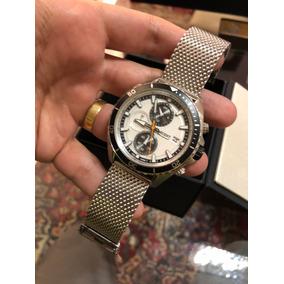 Relógio Orient Cronógrafo Lindo Pulseira Mesh