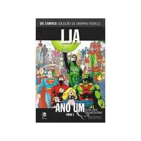 Graphic Novel Dc Comics - Lja - Ano Um - Parte 2