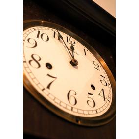 263dde19b1b Relógio Insonia - Eua - Raríssimo Em Mogno E Vidros Bisotê