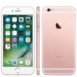 Apple iPhone 6s 32gb Tela Retina 4,7 Ios 11 4g Ouro Rosa
