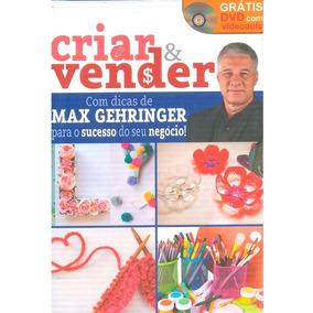 Coleção Criar & Vender Artes Max Gehringer 8 Livros 6 Dvds