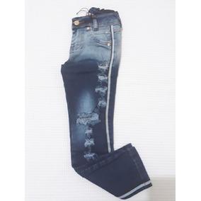 Kit Jeans Infantil Atacado Calça Bermuda Jardineira