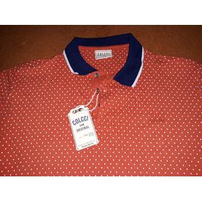 a86b1eaef4 Camisa Polo Colcci Original Poá Linda Tamanho G