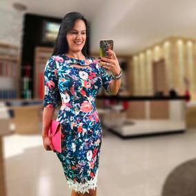 Moda Evangelica Feminina Vestido Tubinho Social Moda Gospel
