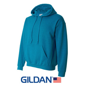 Sudaderas Gildan Turquesa Para Estampar 18500 Import U S A