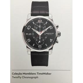 e8f4bdd1523 Relogio Montblanc Chronograph - Relógios no Mercado Livre Brasil