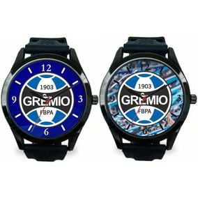 a98c2059246 Relogio Pulso Do Gremio - Joias e Relógios no Mercado Livre Brasil