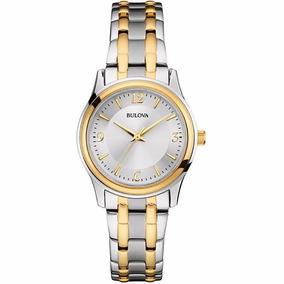 Reloj Bulova Corporate Original 98l218 Original Para Dama