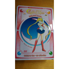 Dvd Talk Box Sailor Moon Serie Original En Español Latino
