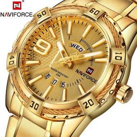 Reloj Naviforce Original 9117, Elegante, Audaz, Mundo, Hombr