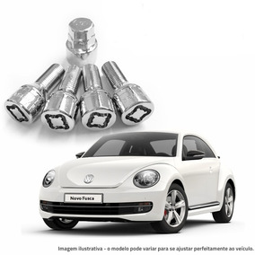 Trava Antifurto P/ Rodas Volkswagen Fusca 4 Peças + Chave