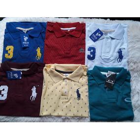 f5544c954b Kit 10 Camisetas Malha - Camisetas e Blusas Manga Curta em São Paulo ...