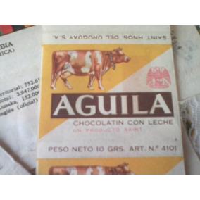 Antiguas Figuritas Banderas Chocolatines Aguila Lote X 7 Dif