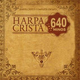 4 Cds Harpa Crista São 640 Hinos Coleção - Frete Grátis