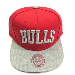 Bone Chicago Bulls Mitchell Ness Snapback Caricatura - Bonés no ... 9bc4f81b92c