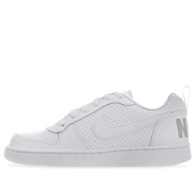 8a19a7db606 Tenis Nike Court Borough Low - 839985100 - Blanco - Joven