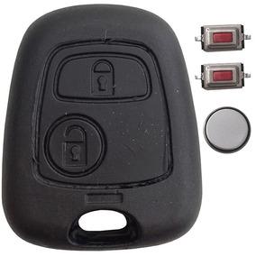 Capa Chave Frontal Alarme Peugeot - Citroen 206 207 C3