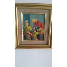 Cuadro De La Afamada Pintora Carolina Cepeda 1994