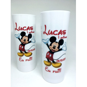 100 Copos Long Drink 350ml Personalizados