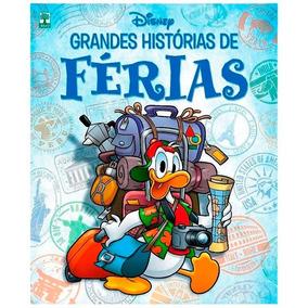 Revista Hq Grandes Histórias De Férias Disney Volume 6