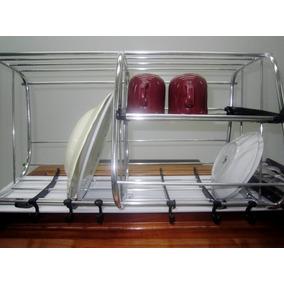 Escurridor De Platos Aluminio Colgante - Secaplatos en Mercado Libre ... 9fa6d2b54365
