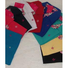 Camisa Polo Kit C 6 Camisa Polo Feminina Varias Marcas 09e94b18839a9