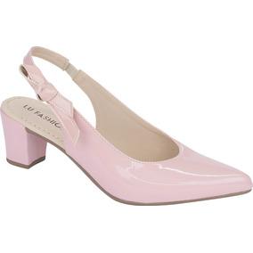 e21cec3aef Sapato Boneca Rosa Bolinhas Brancas Feminino - Scarpins para ...