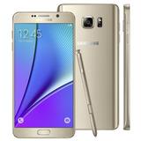Samsung Galaxy Note 5 N920g Original Vitrine Dourado