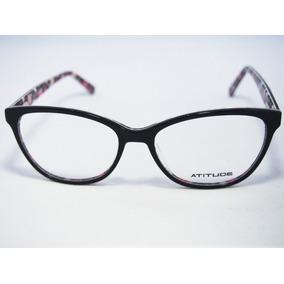 Armacao Atitude Oculos Feminino - Óculos no Mercado Livre Brasil 0adbaf925b