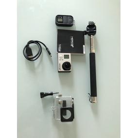 Câmera Gopro Hero 3+ Black Com Controle Remoto