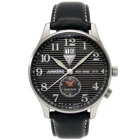 Junkers Iron Annie Big Date, Reloj Doble 6640-2