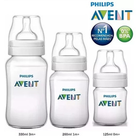 Mamadeira Philips Avent Com 3 125/260/330ml Anticólica