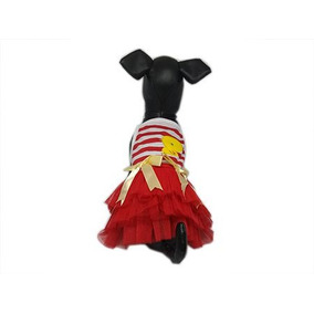 a09d7c191b Roupa Pet Cachorro Vestido Listrado - Cachorros no Mercado Livre Brasil