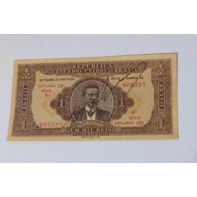 Cédula De 1000 Réis 1923 Fe