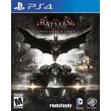 Batman Arkham Knight Ps4 Español Nuevo Fisico